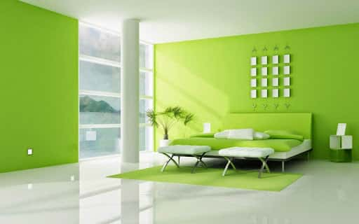 màu sơn nhà sang trọng