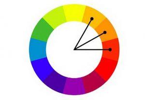 Phối màu liền kề tạo nên sự thu hút, độc đáo cho ngôi nhà.