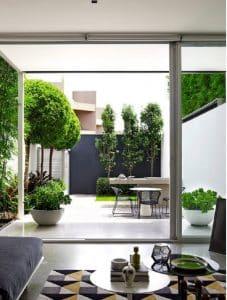 kiến trúc sân vườn sáng tạo