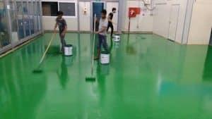 Quy trình công tác thi công sơn epoxy