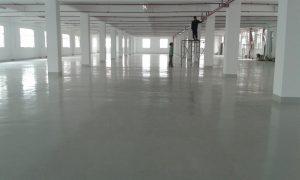 Công trình thi công sơn Epoxy tại công ty chúng tôi
