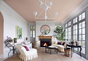 Mẫu sơn phòng khách đẹp số 8