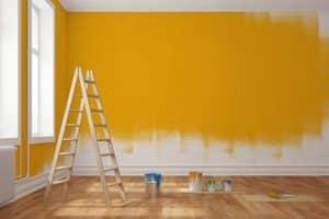 hướng dẫn pha sơn nhà