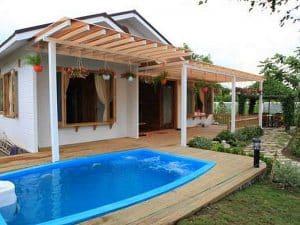 mẫu thiết kế bể bơi hiện đại