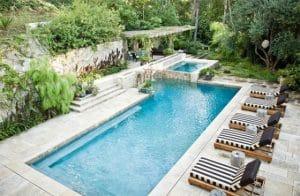 mẫu thiết kế bế bơi sân vườn đẹp