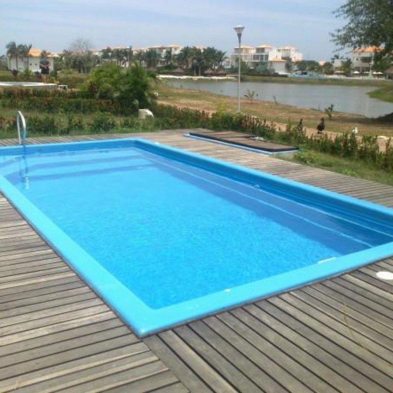 bể bơi chất liệu sợi thủy tinh