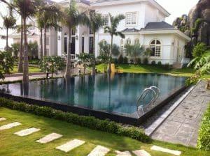 bể bơi biệt thự