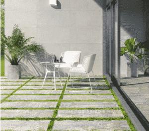 gach ốp sân vườn