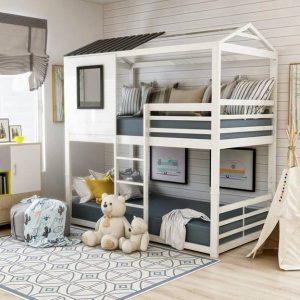 mẫu thiết kế giường số 1