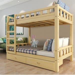 Mẫu thiết kế giường kiểu dáng tối giản