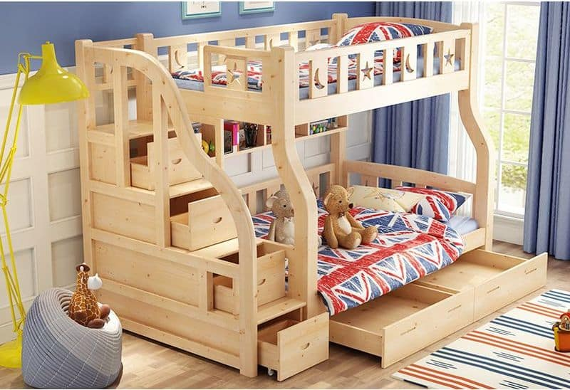 mẫu giường tầng đẹp cho người lớn