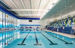 bê bơi kích thước chuẩn thi đấu