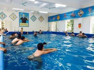 Mẫu hồ bơi trẻ em