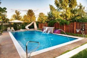 hồ bơi trong nhà cho trẻ