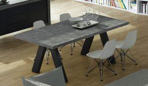 mẫu nội thất bàn bê tông đẹp