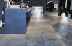 mẫu thiết kế mặt bàn xi măng văn phòng