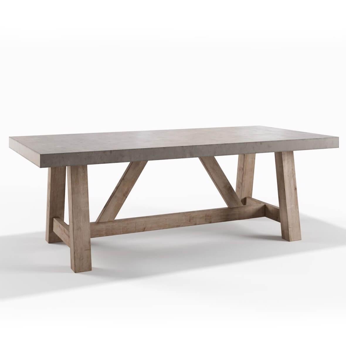 Cách làm mặt bàn bê tông