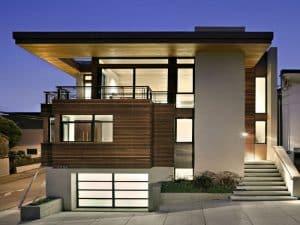 mẫu thiết kế nhà có gara oto