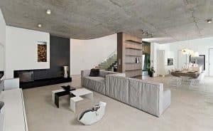 nội thất beton độc đáo