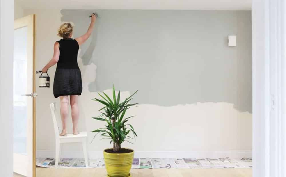 hướng dẫn tự lăn sơn nhà