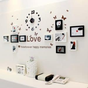 Trang trí tường bằng ảnh ghép nghệ thuật