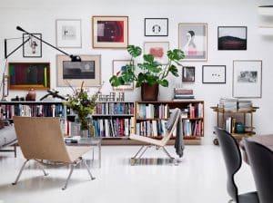 Trang trí tường nhà độc đáo