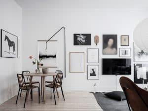 trang trí tường nhà handmade đơn giản