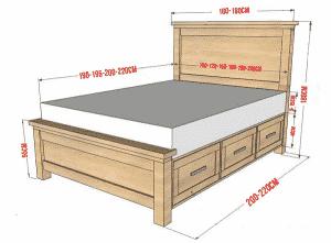một số nguyên tắc chọn kích thước giường