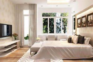 Kiêng kỵ thiết kế nhiều của sổ trong phòng ngủ