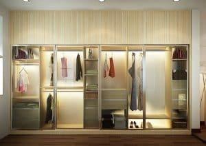 Tủ áo quần là một trong những vật dụng nên có trong phòng ngủ
