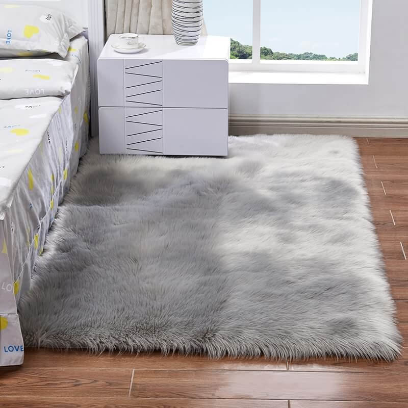 mẫu thảm lông xù ấm áp