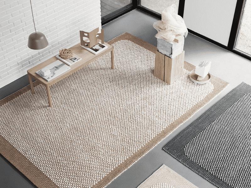 Thiết kế thảm trải sàn cho không gian nhỏ