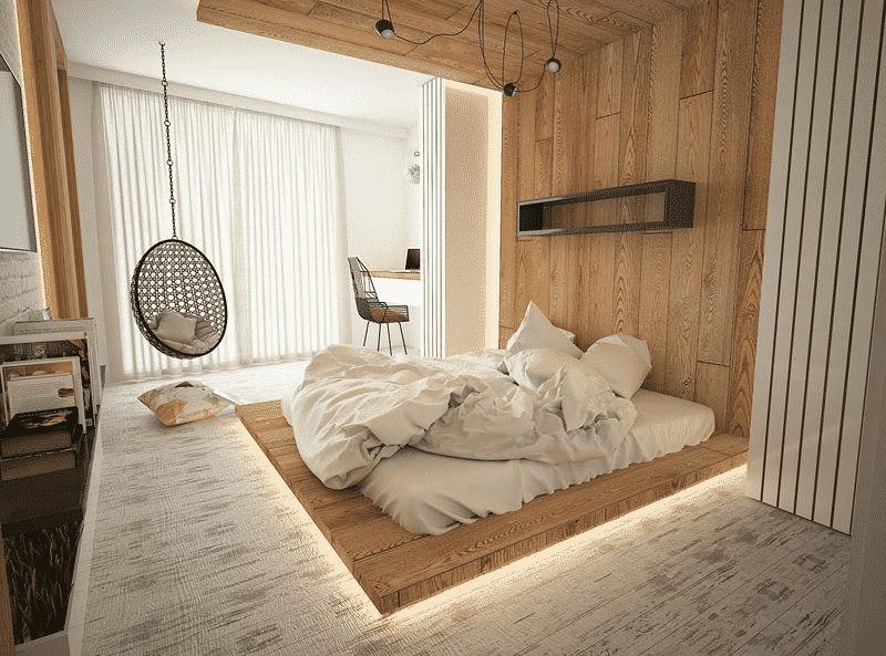 Mẫu phòng ngủ nhỏ không giường đẹp