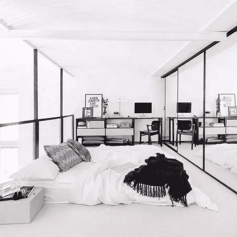 Mẫu phòng ngủ nhỏ đơn giản