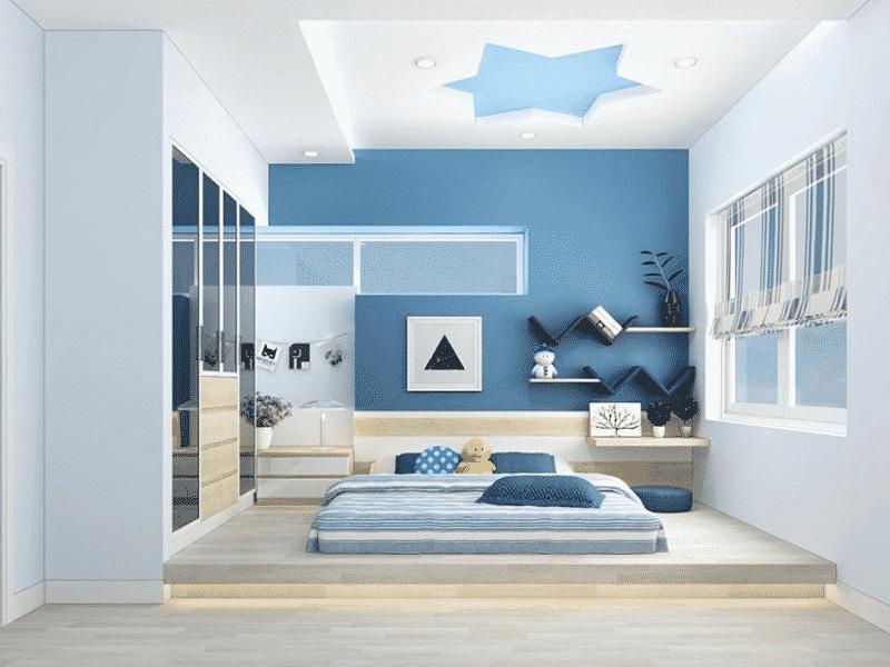 mẫu thiết kế phòng ngủ sáng tạo, năng động