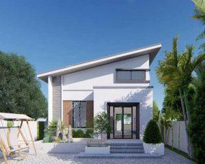 Mẫu thi công xây nhà cấp 4 trọn gói 200 triệu được ưa thích nhất