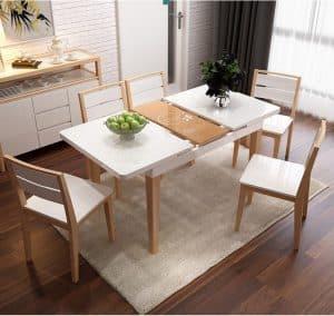 mẫu thiết kế bàn ăn thông minh