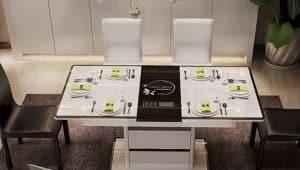 Mẫu bàn ăn đồ nội thất thông tin