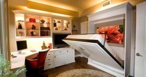Mẫu phòng nội thất đẹp với không gian nhỏ