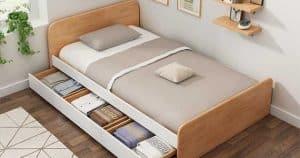 Giường ngủ thiết kế đồ nội thất thông minh