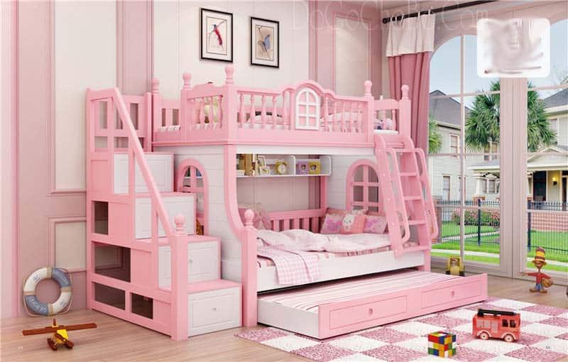 mẫu giường tầng tiện lợi