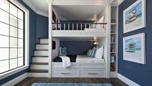 mẫu thiết kế giường tầng sang trọng 2021