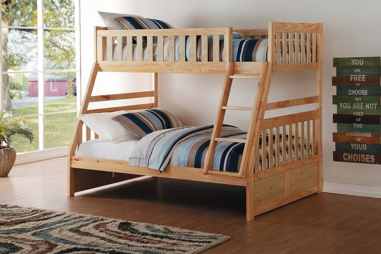 mẫu thiết kế phòng ngủ giường tầng 2021