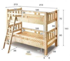 mẫu kích thước giường cơ bản